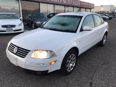2003 Volkswagen Passat for sale at LUXURY IMPORTS AUTO SALES INC in North Branch MN