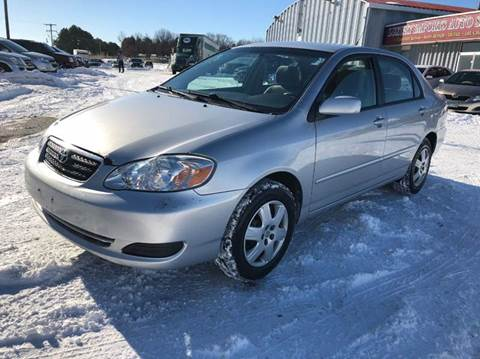2007 Toyota Corolla for sale at LUXURY IMPORTS AUTO SALES INC in North Branch MN