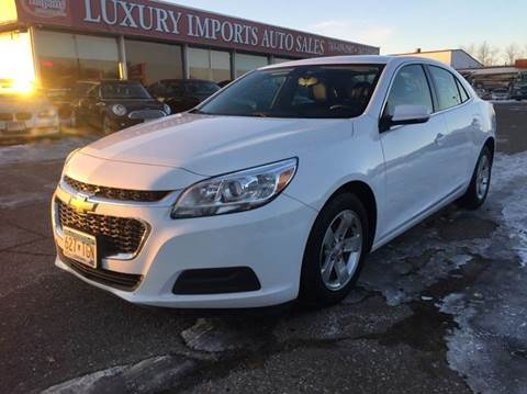 2015 Chevrolet Malibu for sale at LUXURY IMPORTS AUTO SALES INC in North Branch MN
