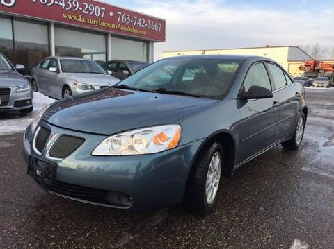 2006 Pontiac G6 for sale at LUXURY IMPORTS AUTO SALES INC in North Branch MN