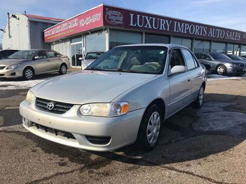 2002 Toyota Corolla For Sale In North Branch, MN