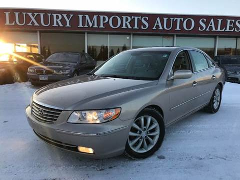 2007 Hyundai Azera for sale at LUXURY IMPORTS AUTO SALES INC in North Branch MN