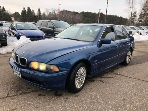 2001 BMW 5 Series for sale at LUXURY IMPORTS AUTO SALES INC in North Branch MN