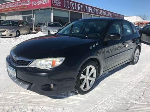 2008 Subaru Impreza for sale at LUXURY IMPORTS AUTO SALES INC in North Branch MN