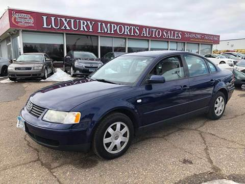 2000 Volkswagen Passat for sale at LUXURY IMPORTS AUTO SALES INC in North Branch MN