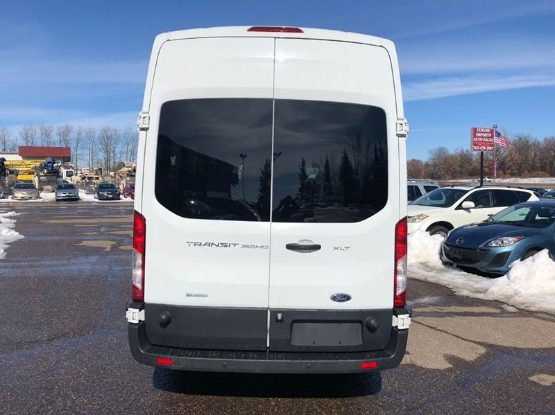 7fba1329f0 2017 Ford Transit Wagon 350 XL HD 3dr LWB High Roof DRW Extended ...