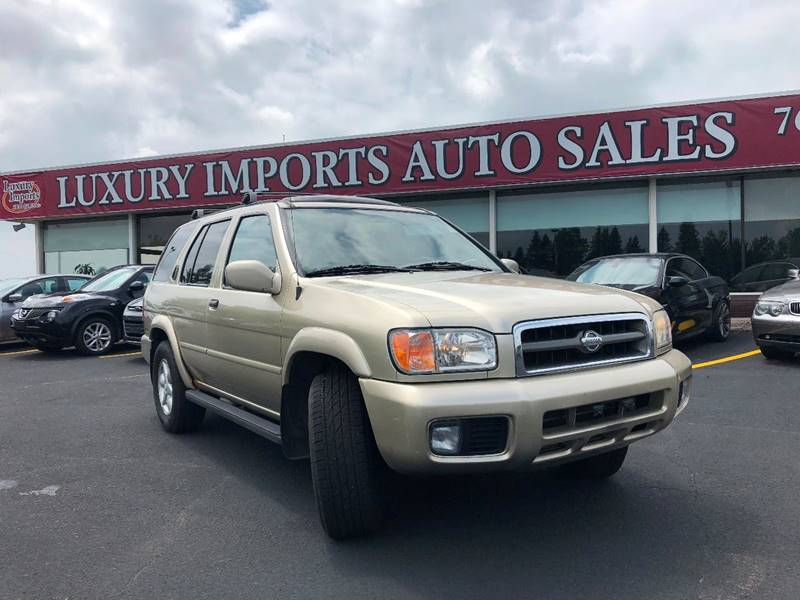 2001 Nissan Pathfinder LE 4WD 4dr SUV   North Branch MN