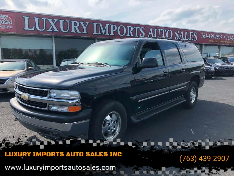 Astounding 2001 Chevrolet Suburban 1500 Lt 4Wd 4Dr Suv In North Branch Caraccident5 Cool Chair Designs And Ideas Caraccident5Info