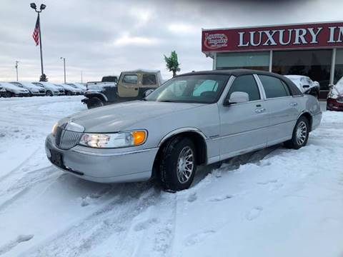 Lincoln Town Car For Sale In Minnesota Carsforsale Com