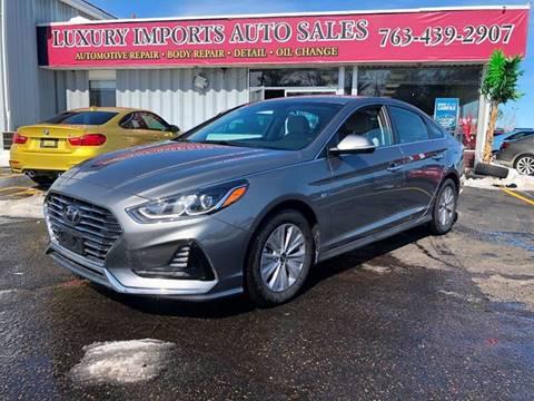 2018 Hyundai Sonata Hybrid for sale in North Branch, MN