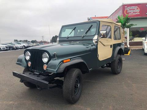 1986 Jeep CJ-7 for sale in North Branch, MN