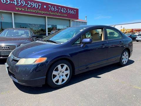 2006 Honda Civic for sale in North Branch, MN