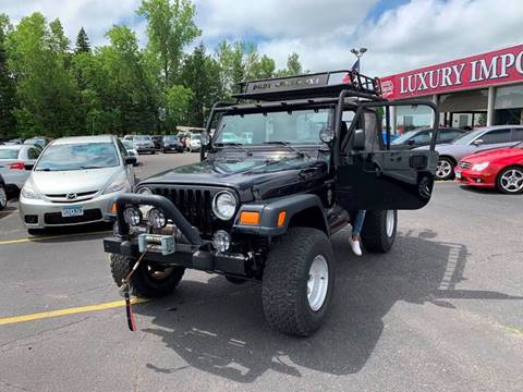 2001 Jeep Wrangler for sale in North Branch, MN