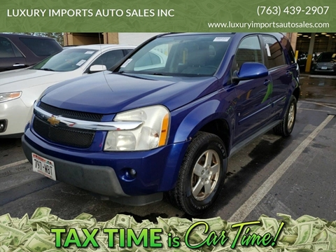 2006 Chevrolet Equinox for sale at LUXURY IMPORTS AUTO SALES INC in North Branch MN