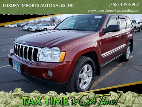 2007 Jeep Grand Cherokee for sale at LUXURY IMPORTS AUTO SALES INC in North Branch MN