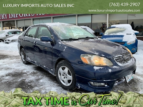 2005 Toyota Corolla for sale at LUXURY IMPORTS AUTO SALES INC in North Branch MN