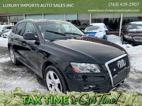2012 Audi Q5 for sale at LUXURY IMPORTS AUTO SALES INC in North Branch MN