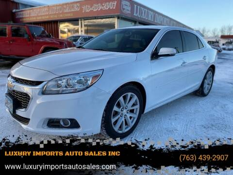 2015 Chevrolet Malibu LT for sale at LUXURY IMPORTS AUTO SALES INC in North Branch MN
