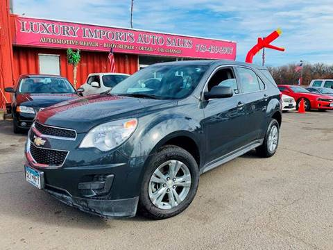 2013 Chevrolet Equinox LS for sale at LUXURY IMPORTS AUTO SALES INC in North Branch MN