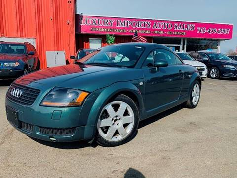 2001 Audi TT 180hp for sale at LUXURY IMPORTS AUTO SALES INC in North Branch MN