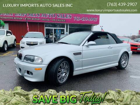 2003 BMW M3 for sale at LUXURY IMPORTS AUTO SALES INC in North Branch MN