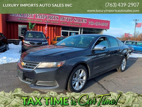 2014 Chevrolet Impala LT for sale at LUXURY IMPORTS AUTO SALES INC in North Branch MN