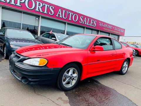 2002 Pontiac Grand Am GT1 for sale at LUXURY IMPORTS AUTO SALES INC in North Branch MN