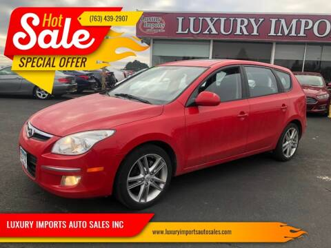 2009 Hyundai Elantra Touring for sale at LUXURY IMPORTS AUTO SALES INC in North Branch MN