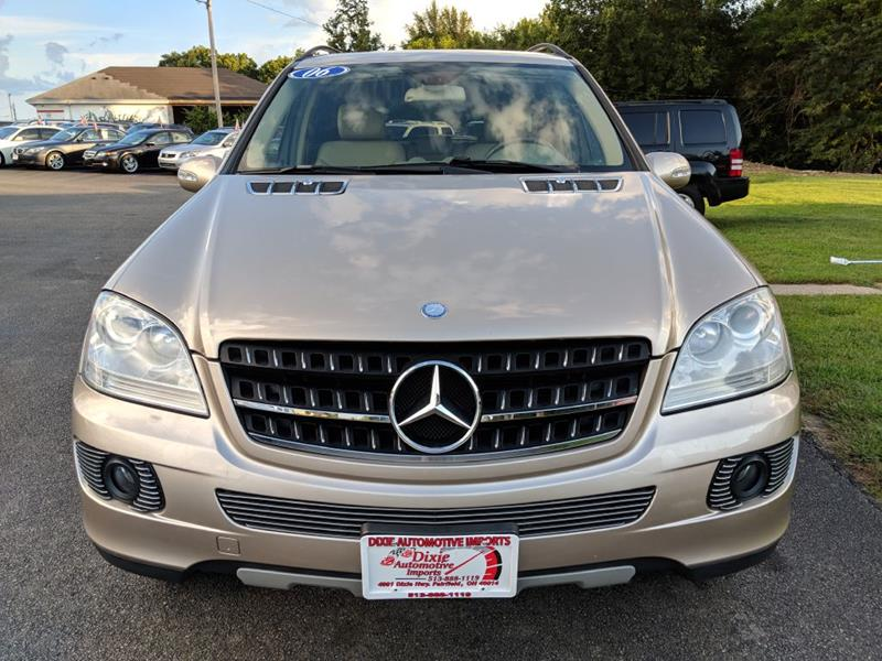 2006 Mercedes Benz M Class Awd Ml 350 4matic 4dr Suv In Fairfield Oh