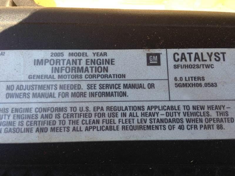 2005 chevy silverado duramax owners manual
