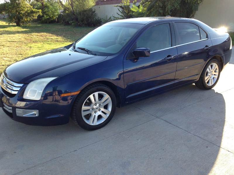 2007 ford fusion v6 sel 4dr sedan in lubbock tx first choice motors. Black Bedroom Furniture Sets. Home Design Ideas