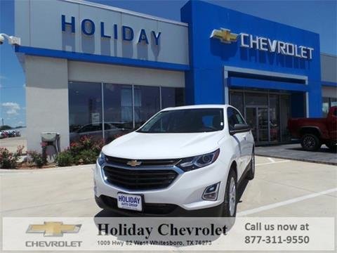 2018 Chevrolet Equinox for sale in Whitesboro, TX