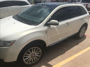 2013 Lincoln MKX for sale in Whitesboro, TX