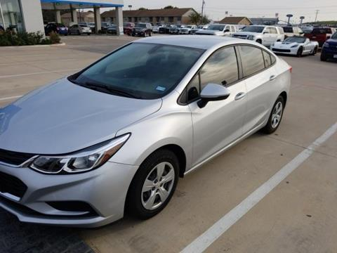 2017 Chevrolet Cruze for sale in Whitesboro, TX