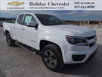 2017 Chevrolet Colorado for sale in Whitesboro, TX