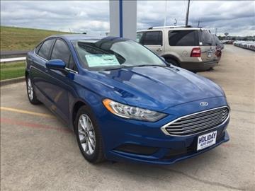2017 Ford Fusion for sale in Whitesboro, TX