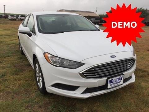 2017 Ford Fusion for sale in Whitesboro TX