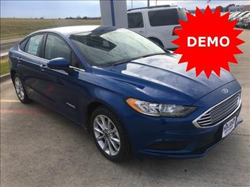2017 Ford Fusion Hybrid for sale in Whitesboro, TX