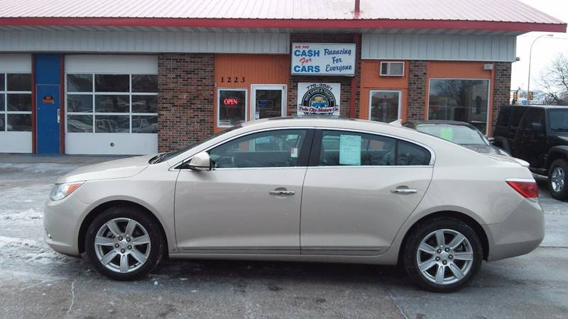 2010 Buick LaCrosse for sale at Twin City Motors in Grand Forks ND