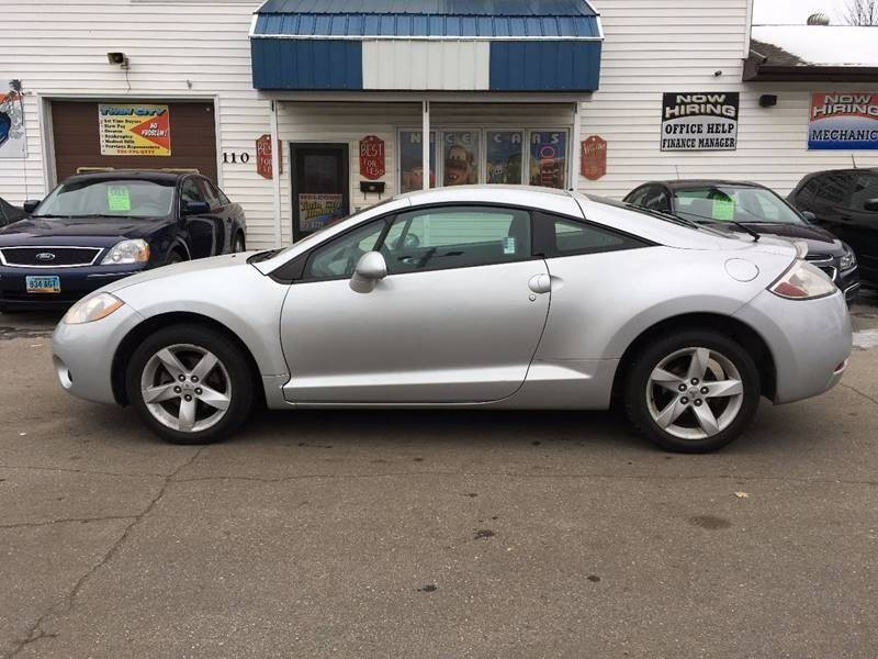 Captivating 2007 Mitsubishi Eclipse For Sale At Twin City Motors In Grand Forks ND