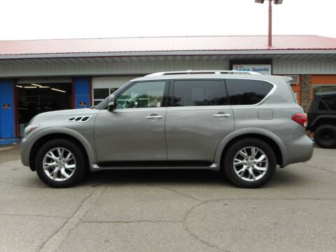2011 Infiniti QX56 for sale at Twin City Motors in Grand Forks ND