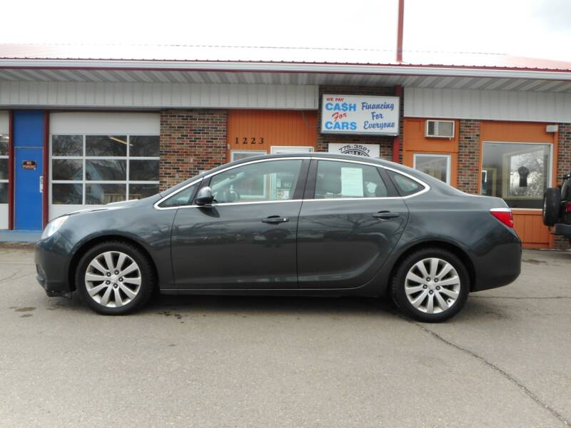 2017 Buick Verano for sale at Twin City Motors in Grand Forks ND
