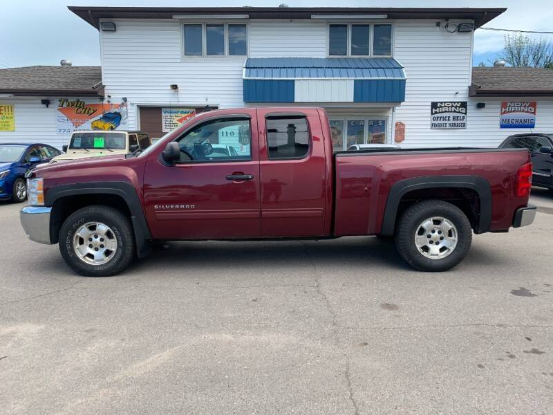2013 Chevrolet Silverado 1500 for sale at Twin City Motors in Grand Forks ND