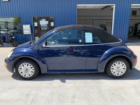 2004 Volkswagen New Beetle Convertible for sale at Twin City Motors in Grand Forks ND