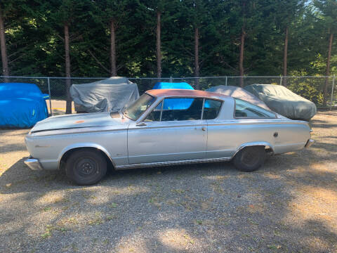 1966 Plymouth Barracuda for sale at Wild About Cars Garage in Kirkland WA