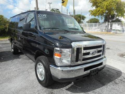 2014 Ford E-Series Wagon for sale at H.A. Twins Corp in Miami FL