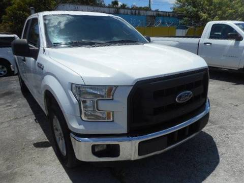 2015 Ford F-150 for sale at H.A. Twins Corp in Miami FL