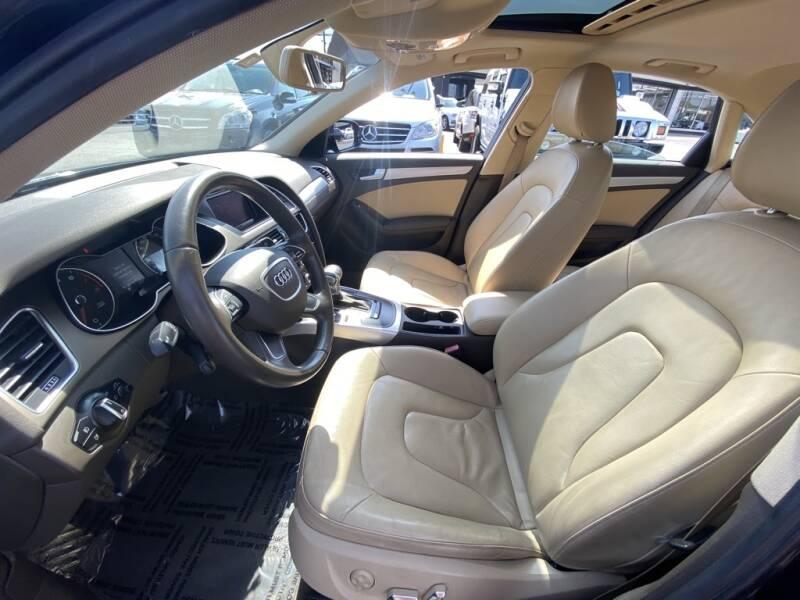 2014 Audi A4 2.0T Premium 4dr Sedan - Indianapolis IN