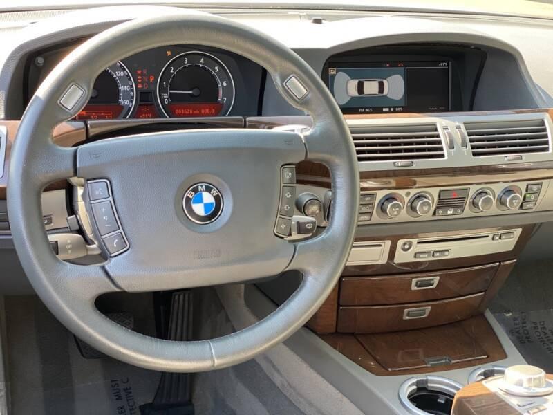 2006 BMW 7 Series 750Li 4dr Sedan - Indianapolis IN