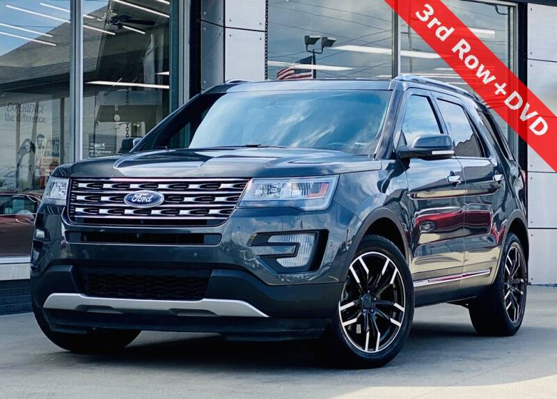 2017 Ford Explorer AWD Limited 4dr SUV - Indianapolis IN